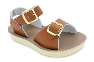 Salt Water Surfer Sandals in Tan