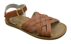 Salt Water Retro Sandals in Tan