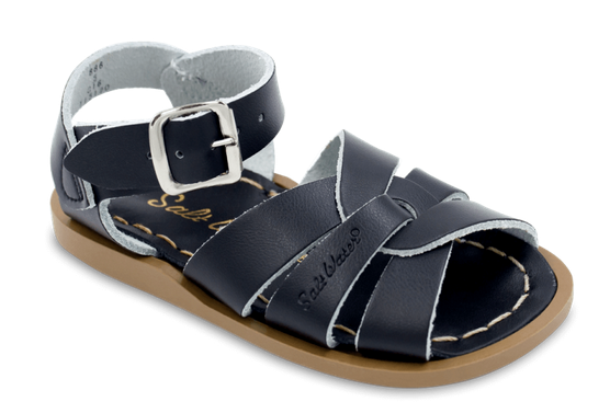 Salt Water Sandals in Black
