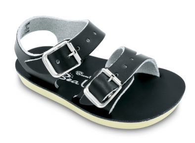 Salt Water Sea Wee Sandals in Black