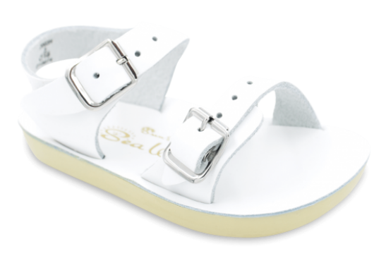 Salt Water Sea Wee Sandals in White