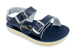 Salt Water Sea Wee Sandals in Navy