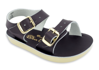 Salt Water Sea Wee Sandals in Brown