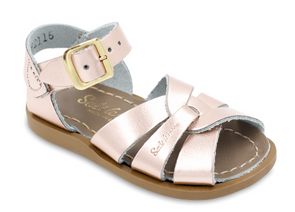 Salt Water Sandals in Rose Gold