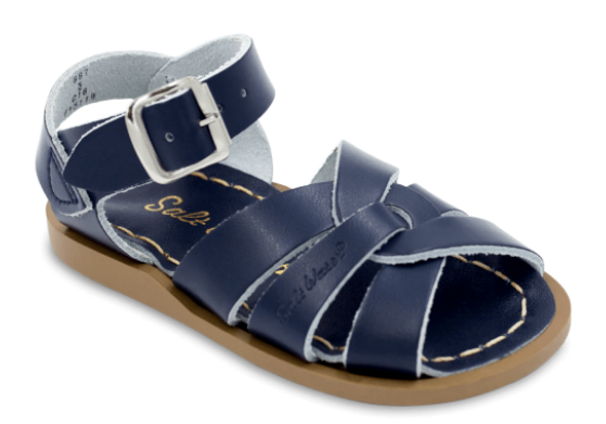 Salt Water Sandals in Navy