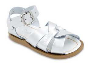 Salt Water Sandals in Silver