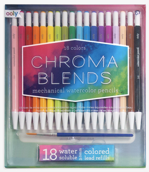 OOLY Chroma Blends Mechanical Water Color Pencils
