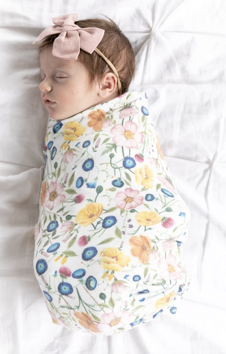 Copper Pearl Swaddle Blanket in Isabella