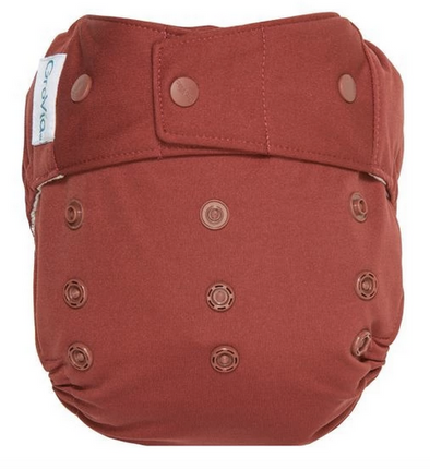 GroVia Diaper Shell Snap in Marsala