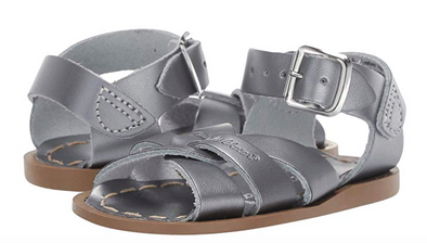 Salt Water Classic Sandals in Pewter