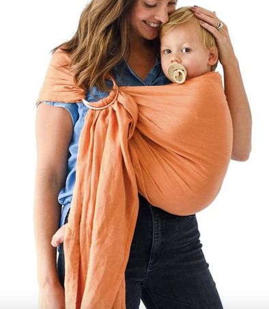Kyte Baby Ring Sling in Clementine