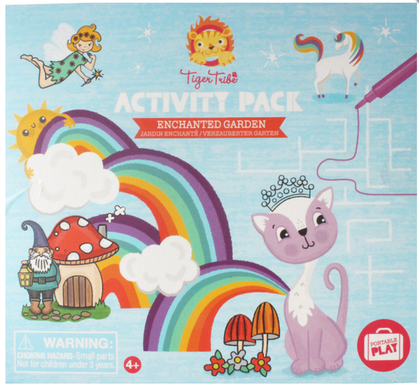 Schylling Enchanted Garden Activity Pack
