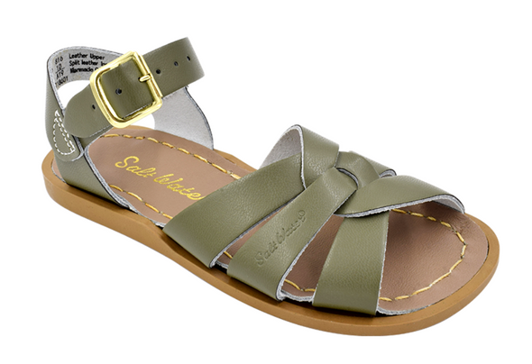Salt Water Sandals in Olive