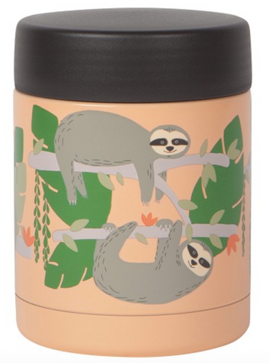 Now Designs Sloths Roam Jar Small
