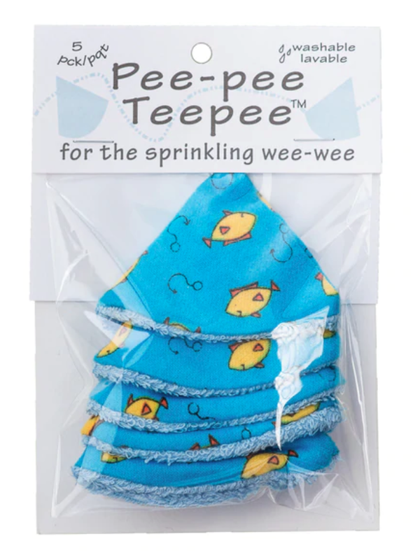 Pee-Pee TeePee in Fishing Blue
