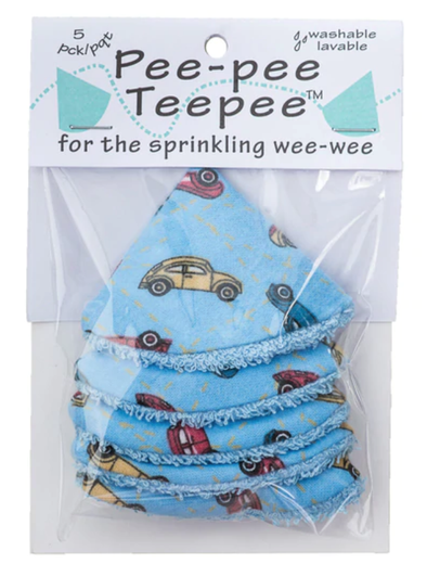 PeePee TeePee in Cars Blue