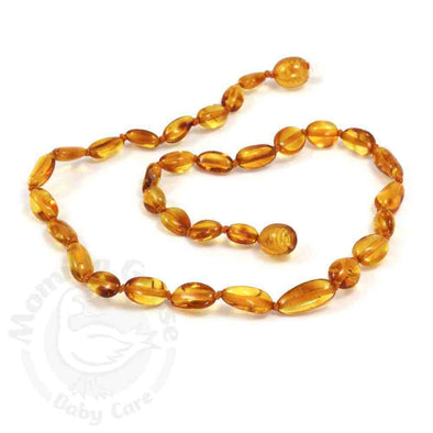 Momma Goose Baltic Amber Teething Necklace -Available in assorted sizes