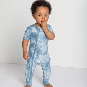 Blue Tie Dye Coverall