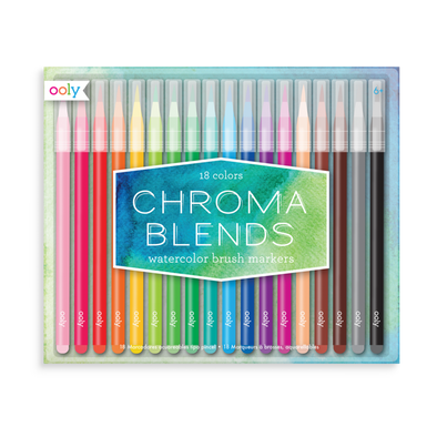 OOLY Chroma Blends Brush Markers