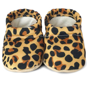 Clamfeet Crib Shoes in Raven