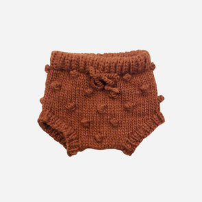 Cinnamon Knit Bloomers
