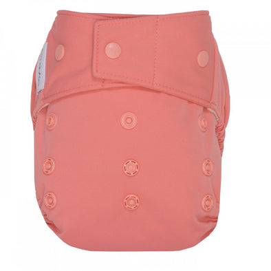 GroVia Diaper Shell Snap Rose