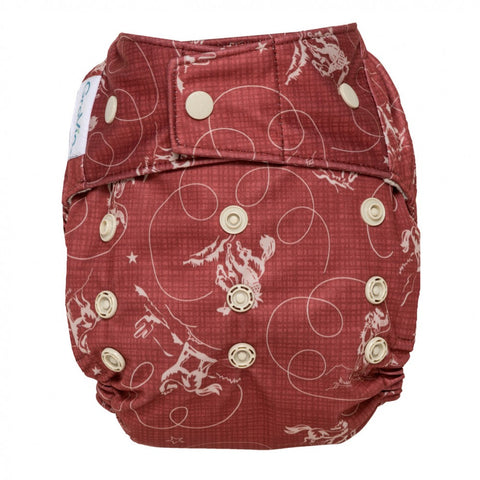 GroVia Diaper Shell Snap Tex