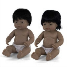 "Hispanic Boy 15"" Miniland Doll"