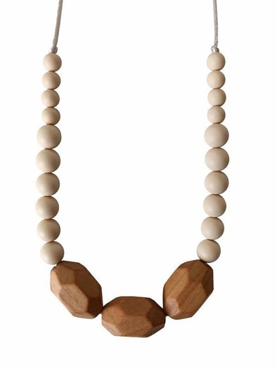 Chewable Charm Austin Cream Necklace