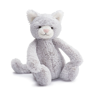 Jellycat Bashful Grey Kitty Small