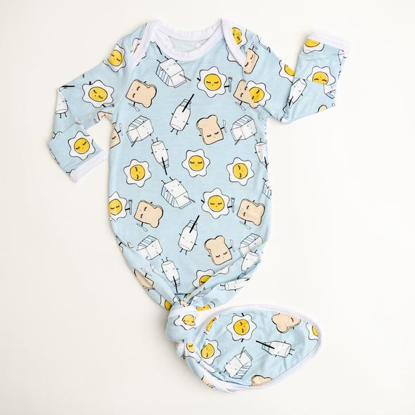 Breakfast Buddies Gown Blue