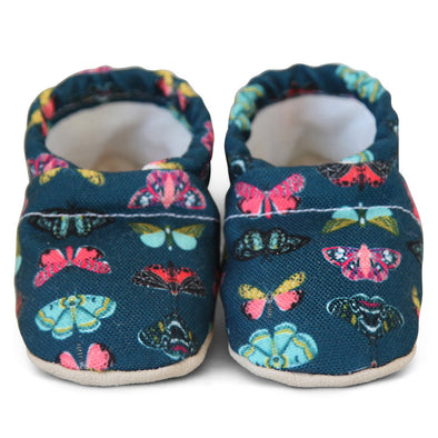 Clamfeet Crib Shoes in Jodi