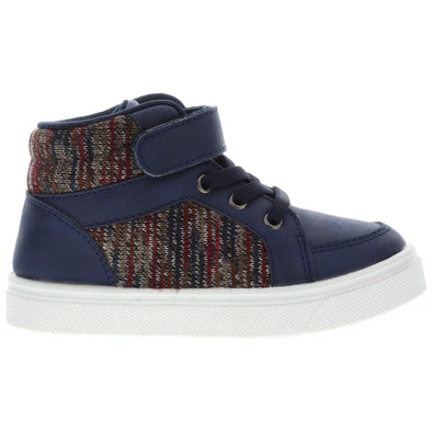 Oomphies Sid Shoes in Navy Multi