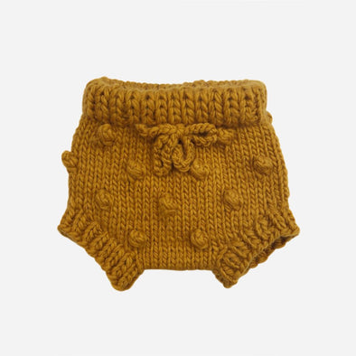 Mustard Knit Bloomers