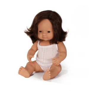 "Brunette Girl 15"" Miniland Doll"