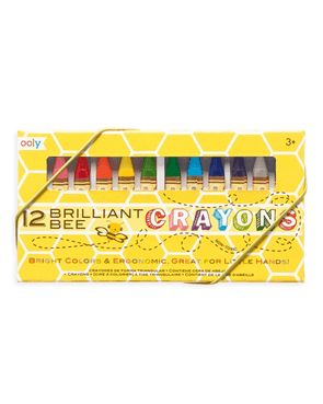 OOLY Brilliant Bee Crayons Set of 12