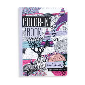 OOLY Travel Coloring Book in Sweet Whimsey