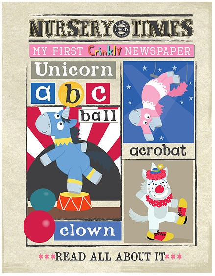 Nursery Times Unicorns A to Z