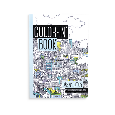 OOLY Travel Coloring Book in Urban Cities