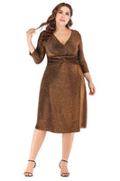 Tall Plus Size Short Party Dress