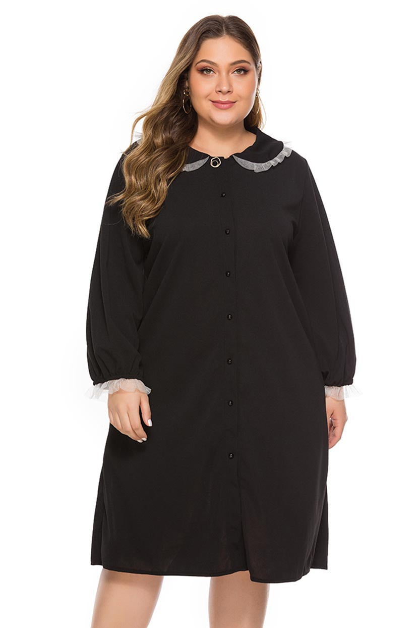 1920s Plus Size Flapper Dresses, Gatsby Dresses, Flapper Costumes Casual Comfort Tunic Shirt $56.99 AT vintagedancer.com