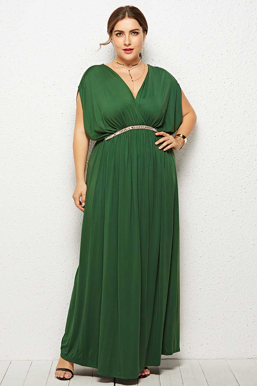 70s Prom, Formal, Evening, Party Dresses Any Time Classy flared Maxi dress $50.99 AT vintagedancer.com