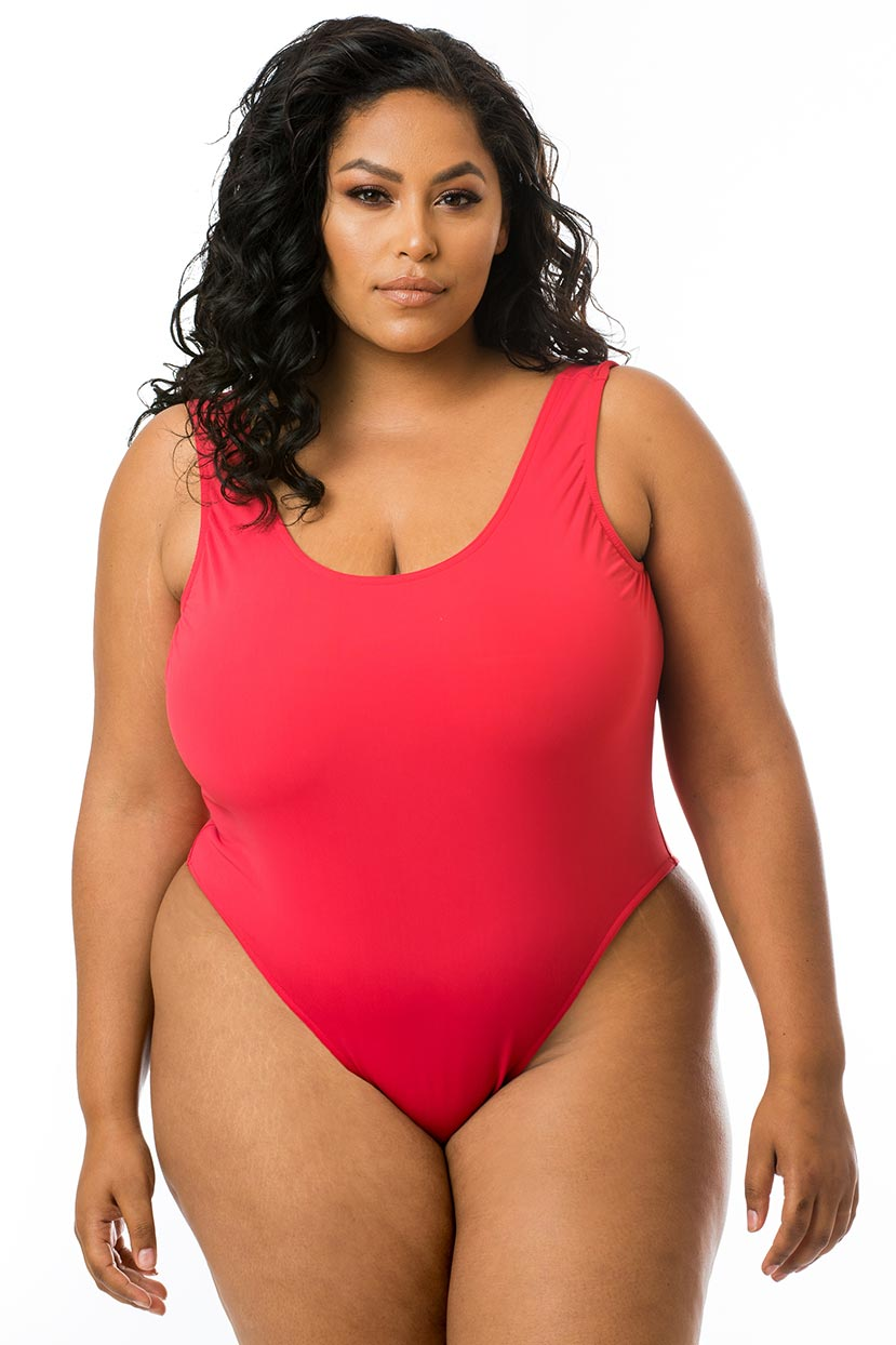 Basic Dark Pink One Piece