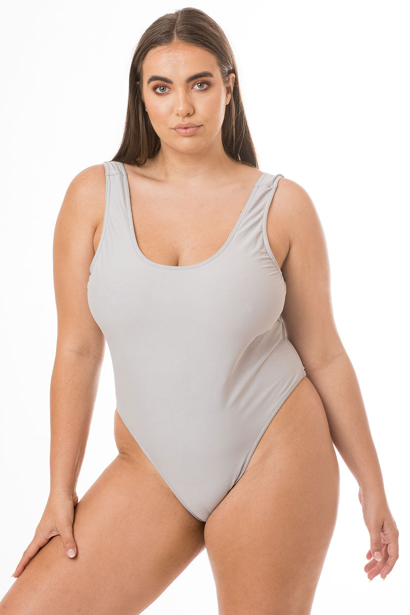 Basic Grey One Piece