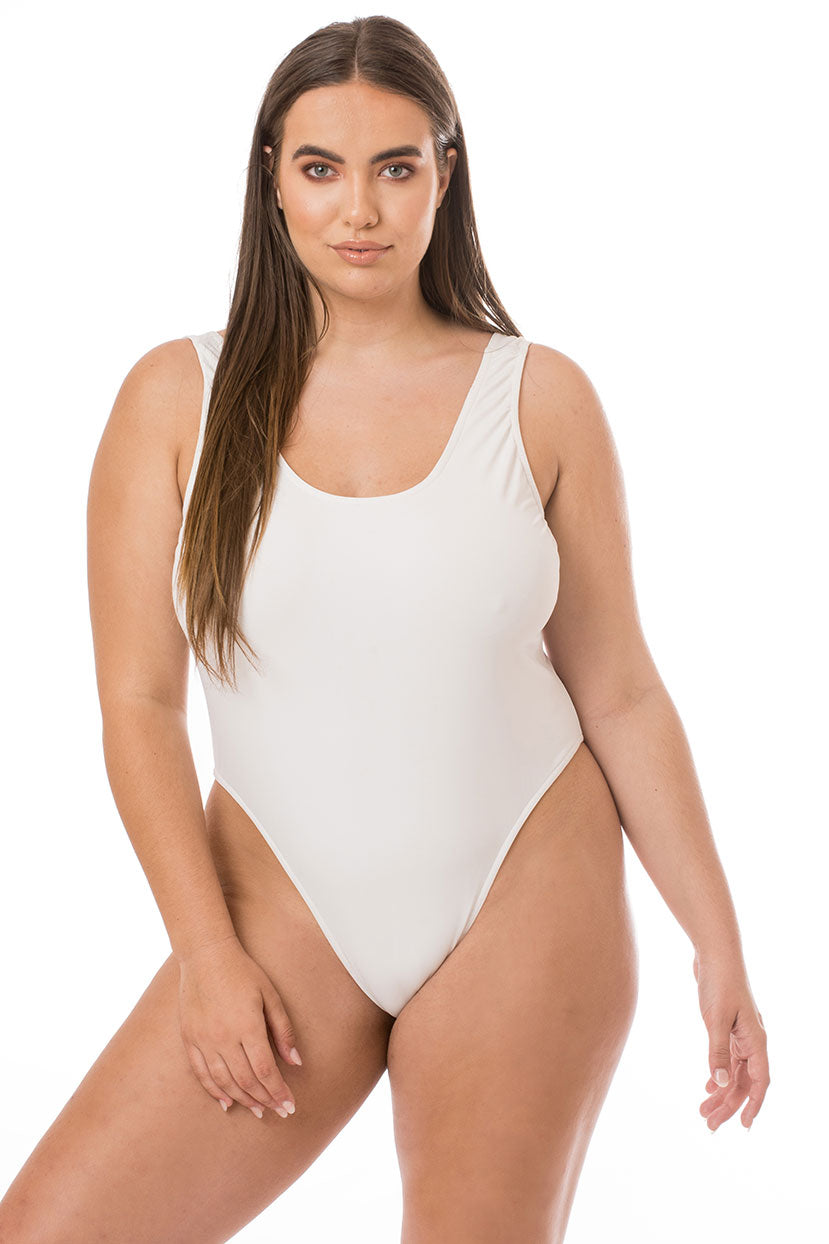 Basic White One Piece