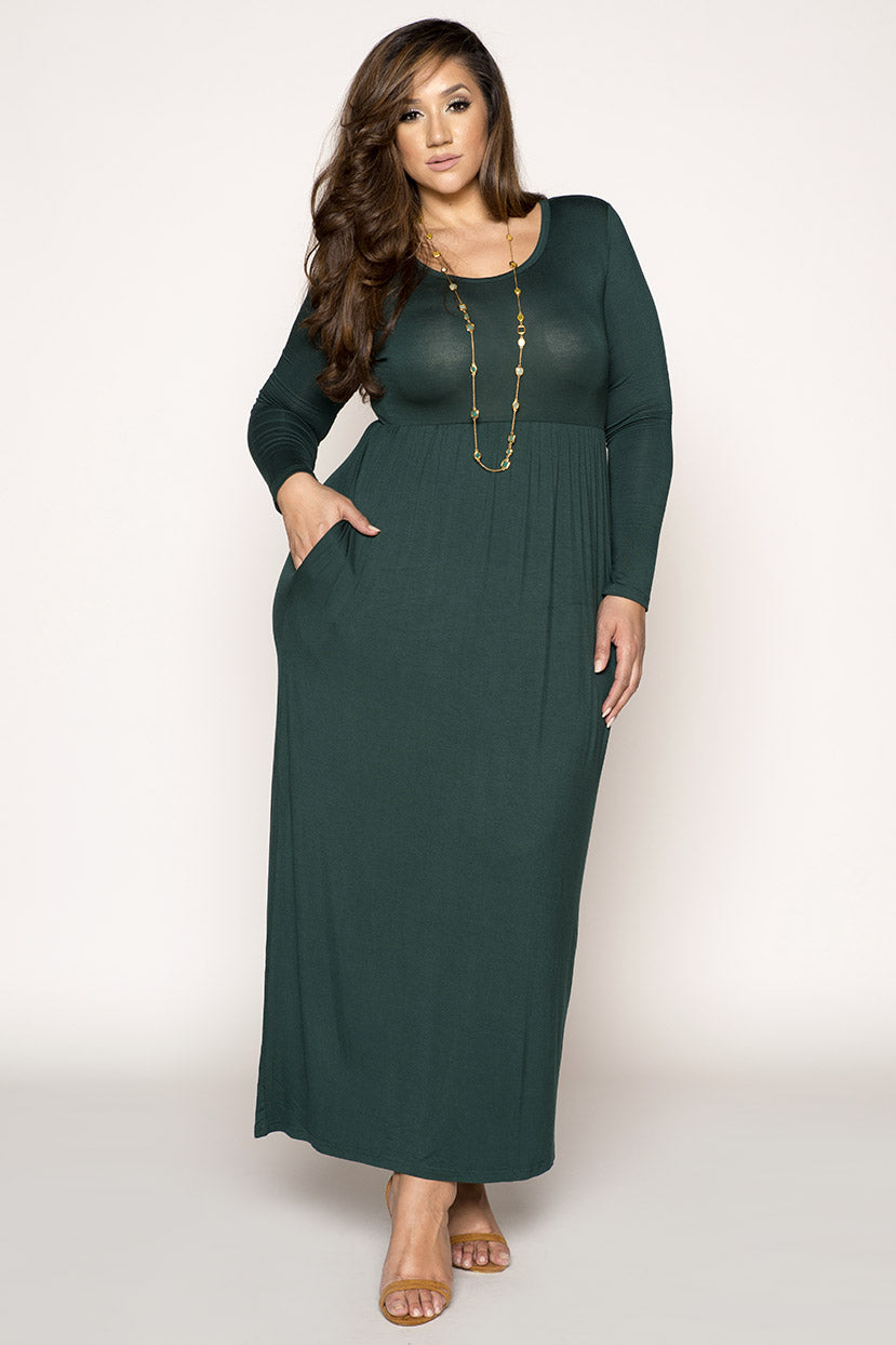 Beautiful Maxi Dress with Pockets