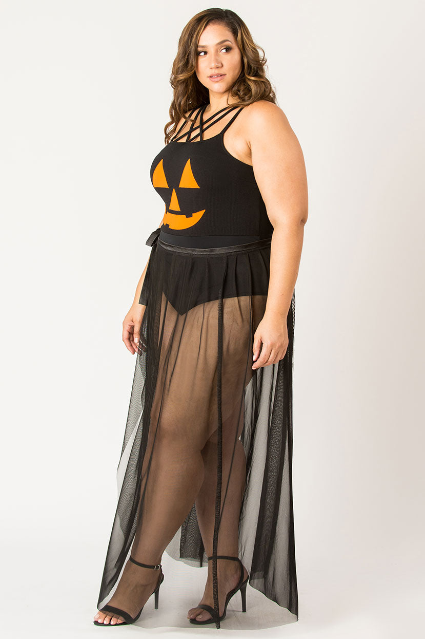Halloween Jack-O'- Dress