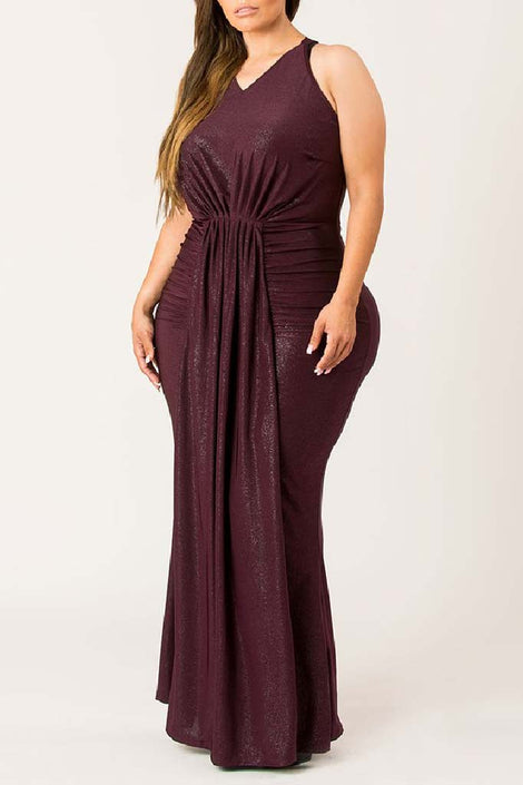 Lavish Draped Dress