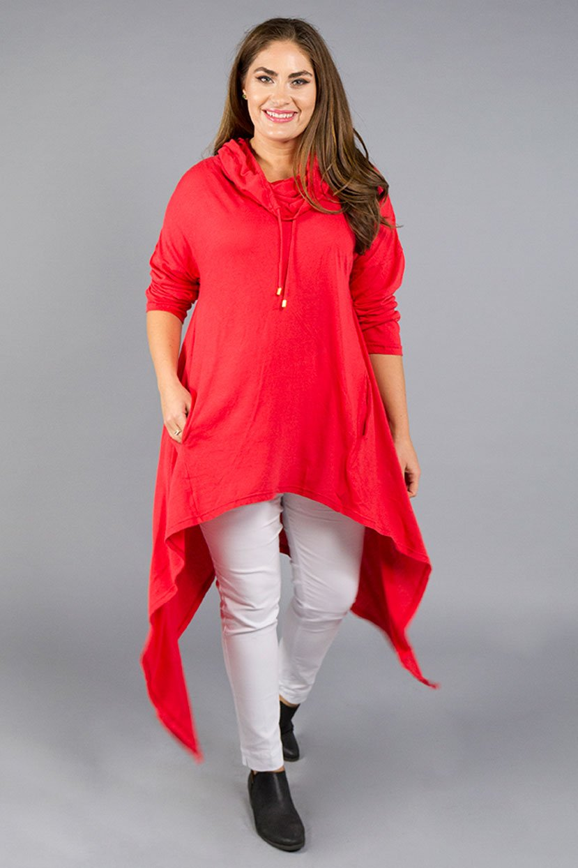 Plus Size Pocketed Dress