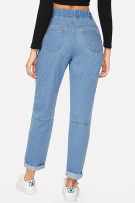 Loose and Easy Denim Jogger